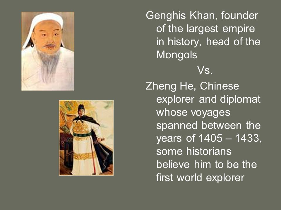 Genghis Khan, founder of the largest empire in history, head of the Mongols
