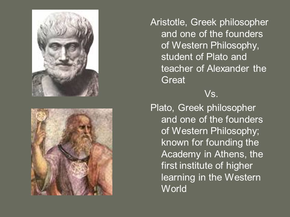 Aristotle, Greek philosopher and one of the founders of Western Philosophy, student of Plato and teacher of Alexander the Great
