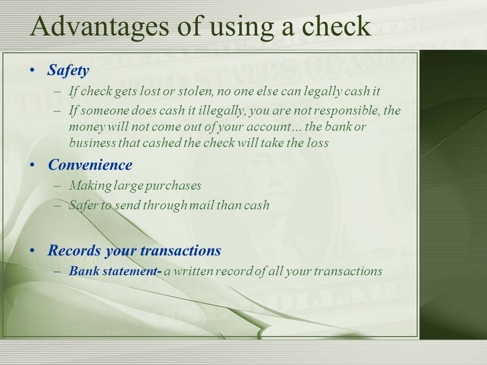 Chapter 7: Banking Services - ppt video online download