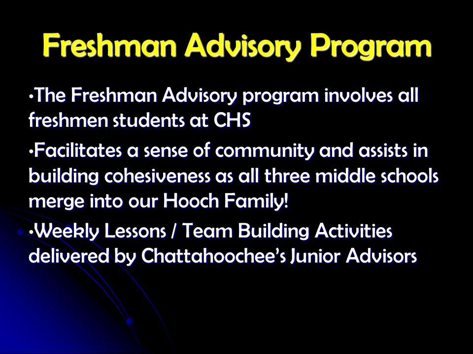 Freshman Advisory Program
