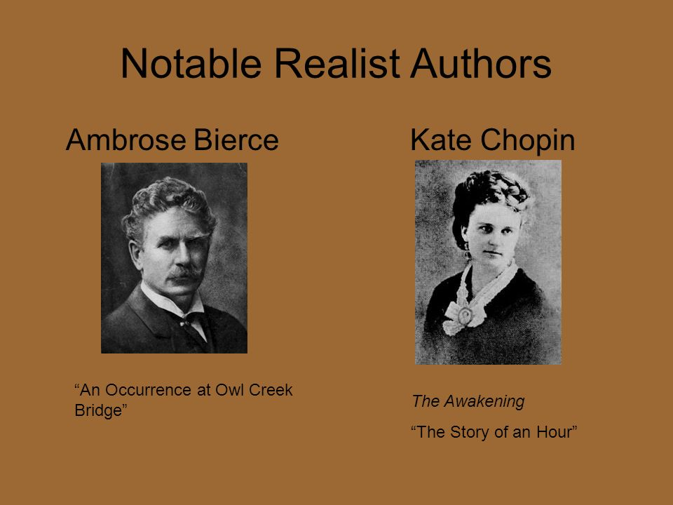 Notable Realist Authors