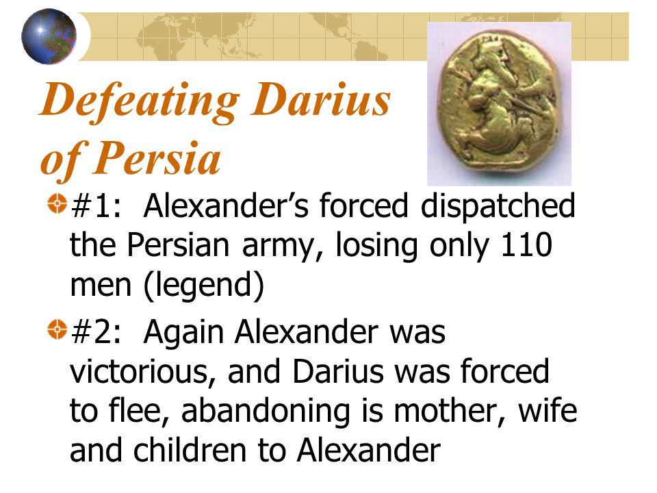 Defeating Darius of Persia