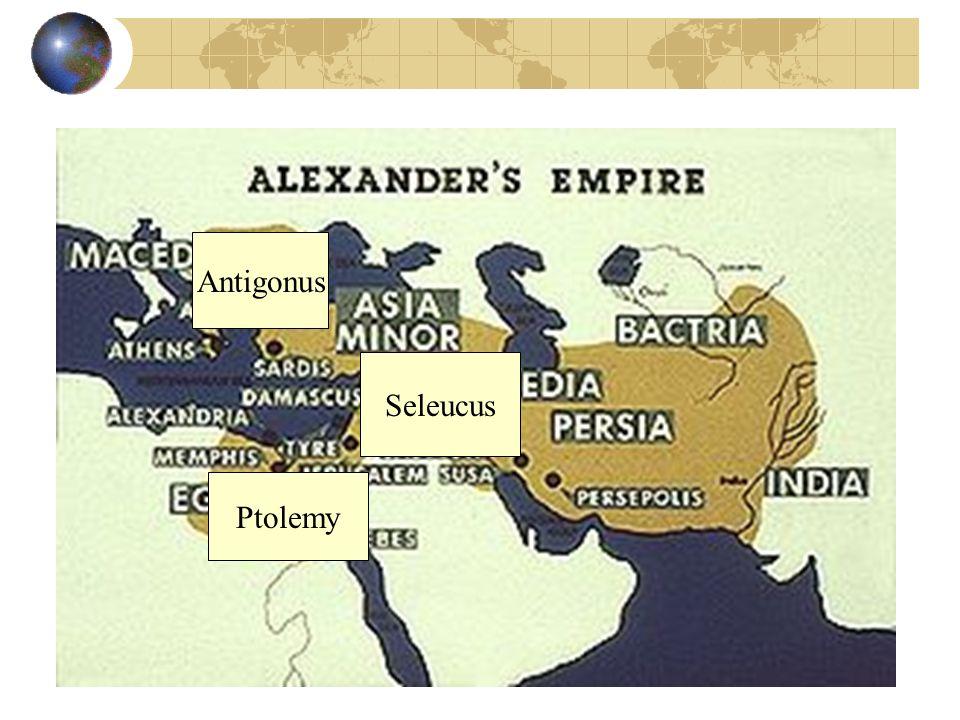 Antigonus Seleucus Ptolemy