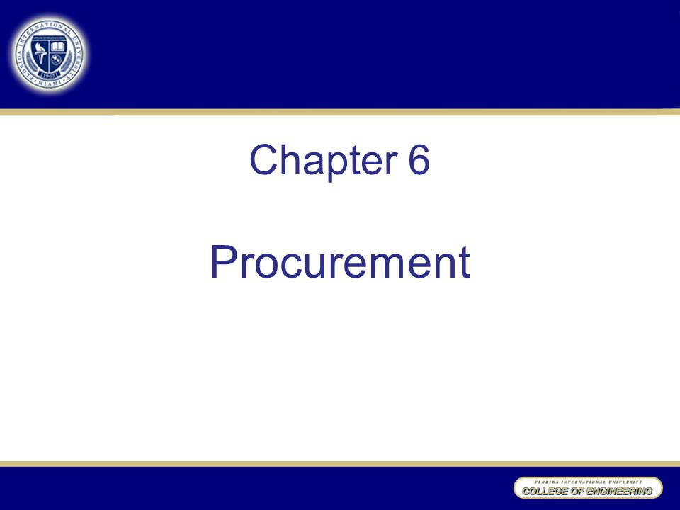 chapter 6 water procurement Green procurement involves buying goods and services that are less harmful to human health and the environment than competing products that serve the same purpose we examined efforts to promote and support green procurement across the federal government, including guidance to departments on how to address.