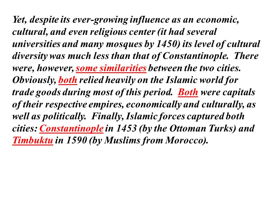 Islam change over time essay