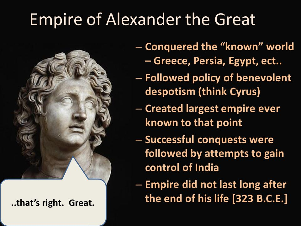 account of the life and conquests of alexander the great Alexander iii of macedon conquered all who stood before him, but usually in  order to free the  alexander the great has lived a life full of accomplishments   to his mysterious death is interesting, but even after he died the story is  fascinating.