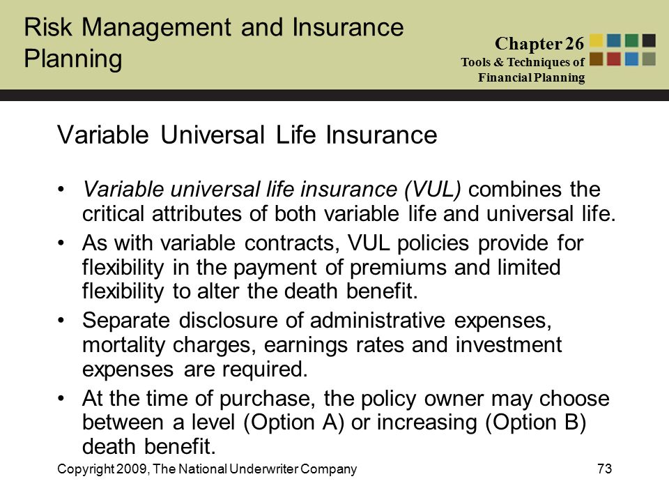 Increasing death benefit option - Life Insurance ...