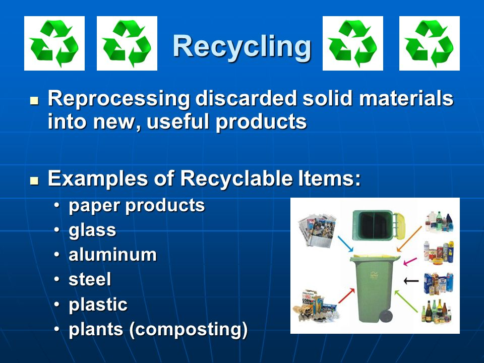 Solid and hazardous waste ppt download for Waste things into useful things