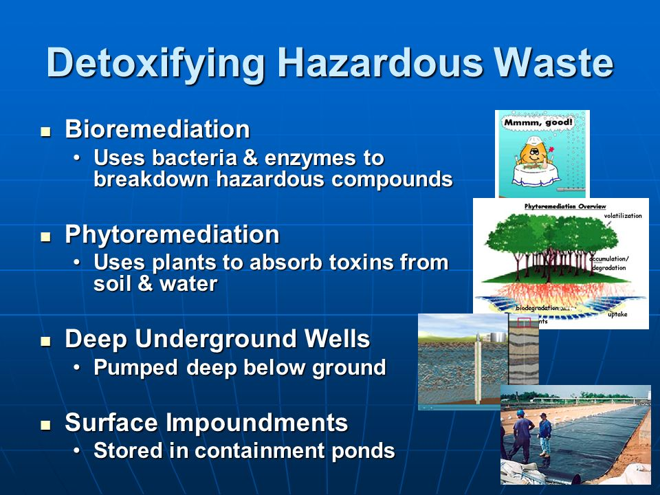 Detoxifying Hazardous Waste