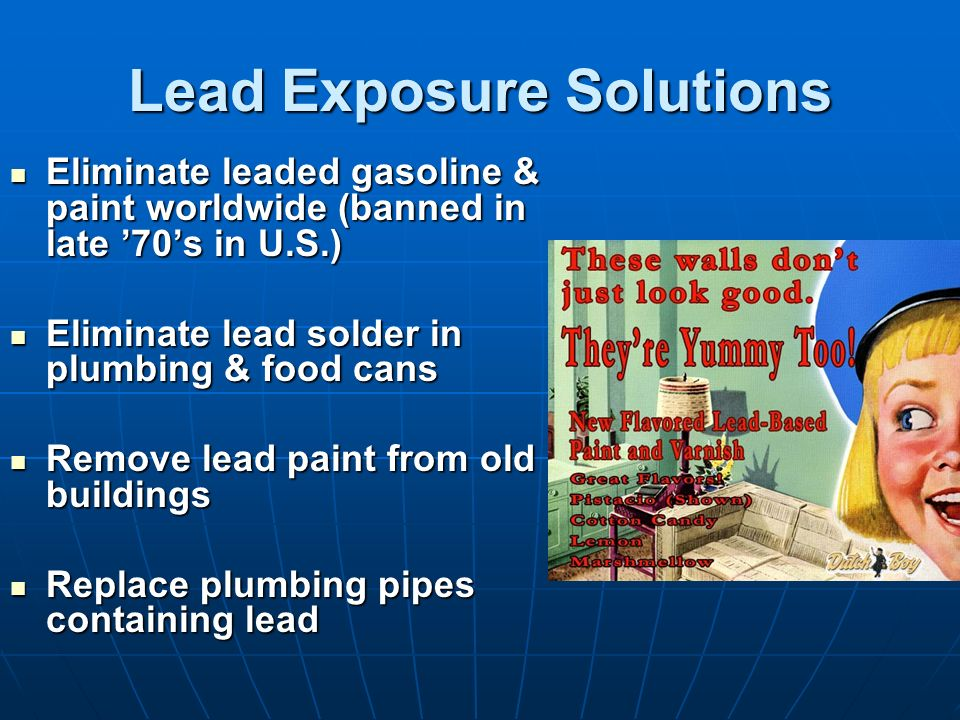 Lead Exposure Solutions
