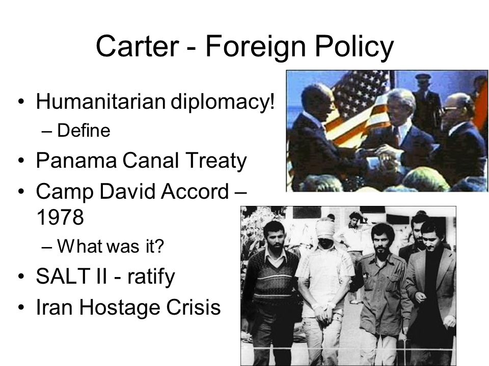 Carter - Foreign Policy