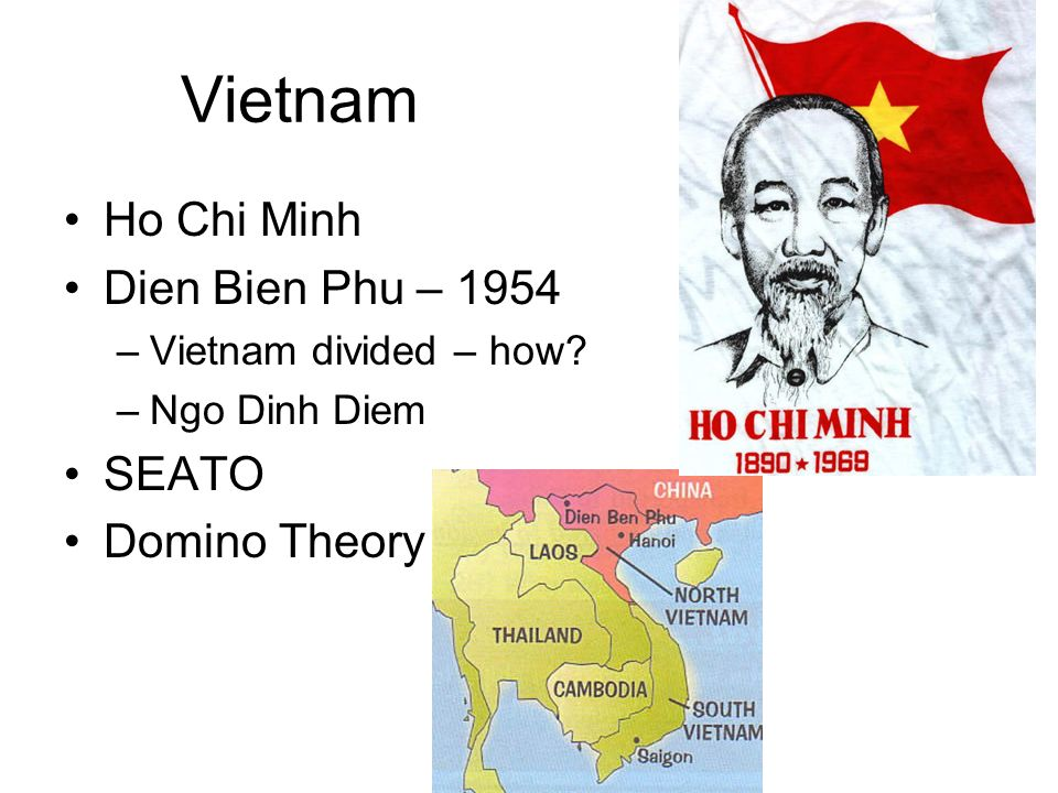 Vietnam Ho Chi Minh Dien Bien Phu – 1954 SEATO Domino Theory