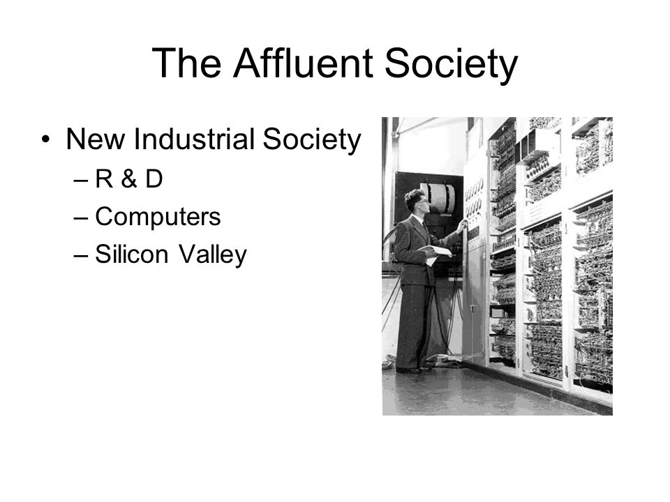 advertising and new affluent society The affluent society has 2,142 ratings and 110 reviews trevor said: contrary to the assumptions made in the history of economic theory (from adam smith.