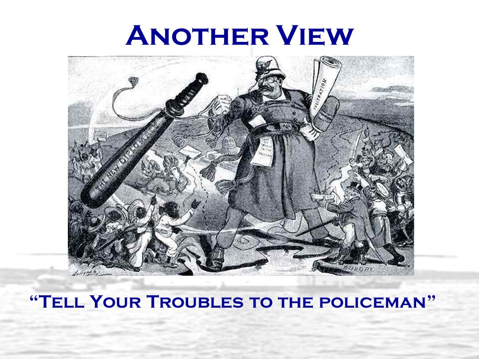 Another View Tell Your Troubles to the policeman