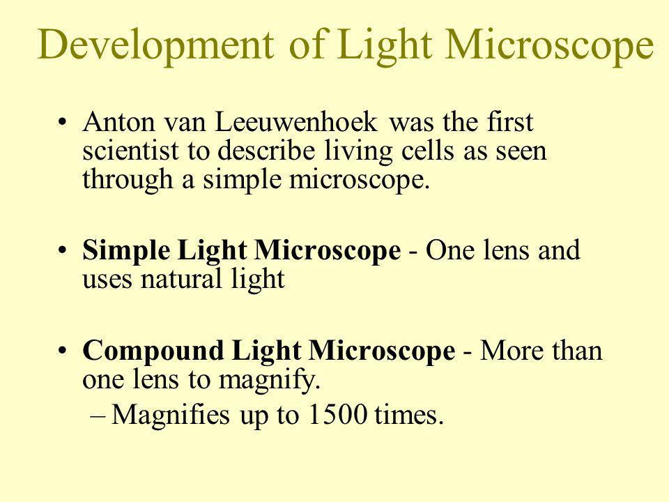 Development of Light Microscope