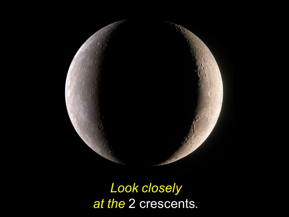 Look closely at the 2 crescents.