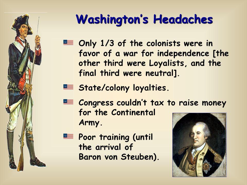 Washington's Headaches