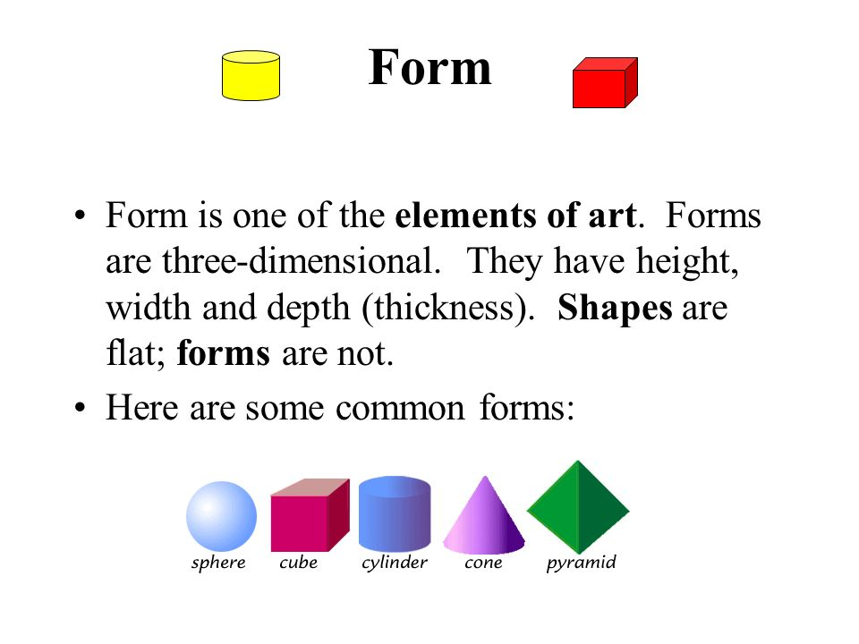 The Elements Of Art Form The Basic : Study of elements art ppt video online download