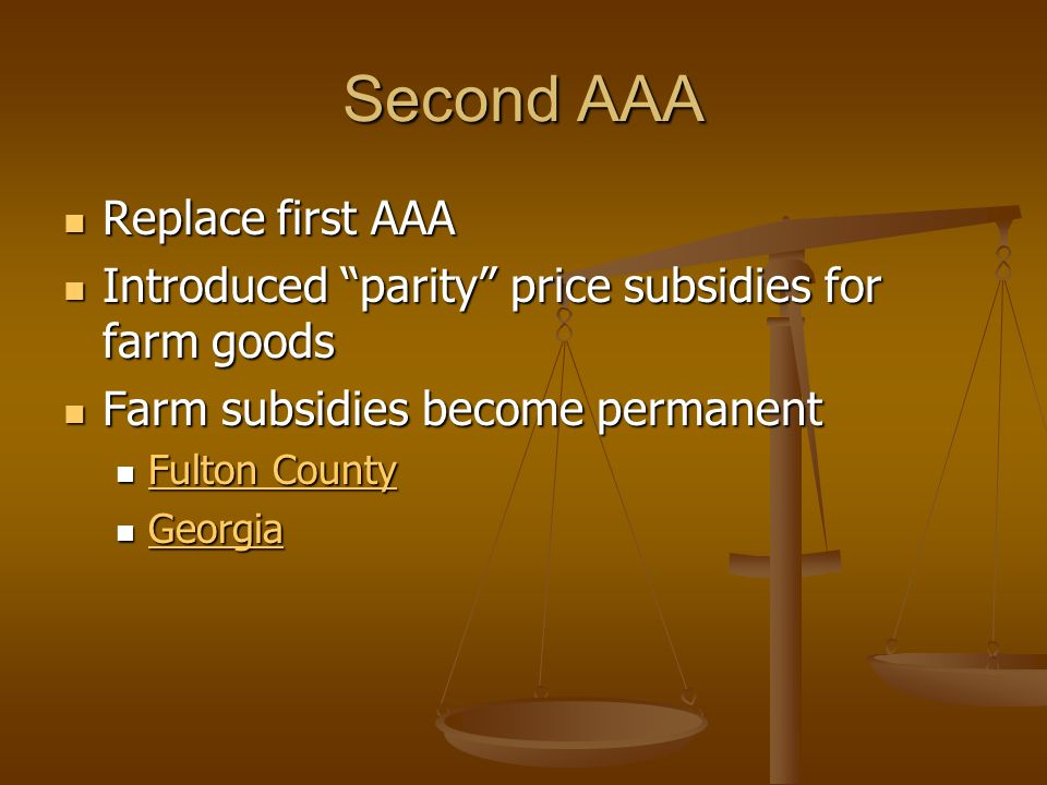 Second AAA Replace first AAA