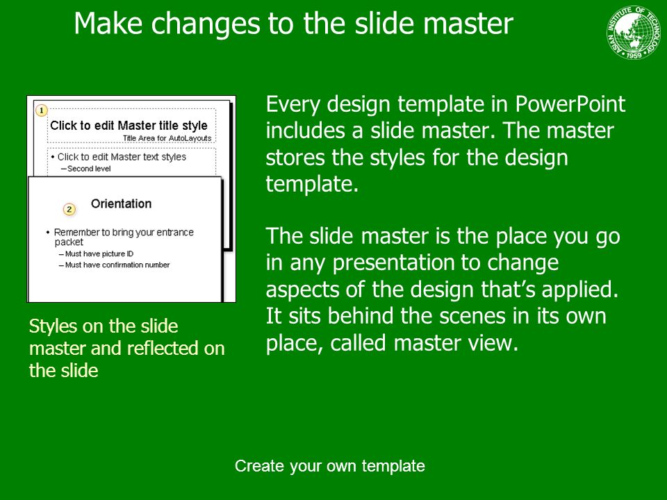 Create your own template ppt download for How to create a master template in powerpoint