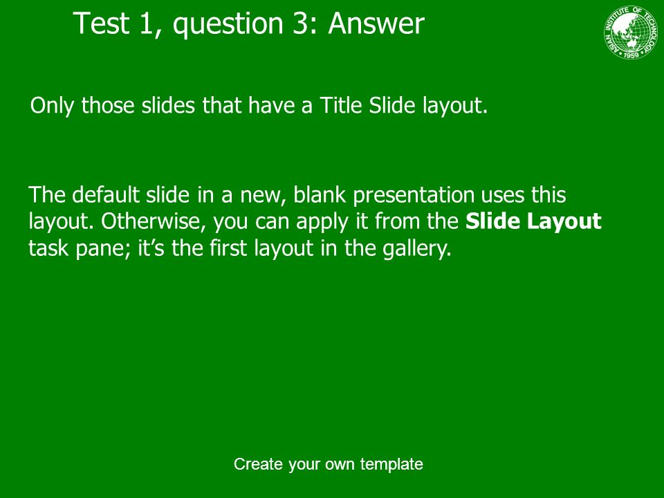 create your own template - ppt download, Presentation templates