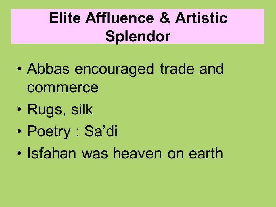 Elite Affluence & Artistic Splendor