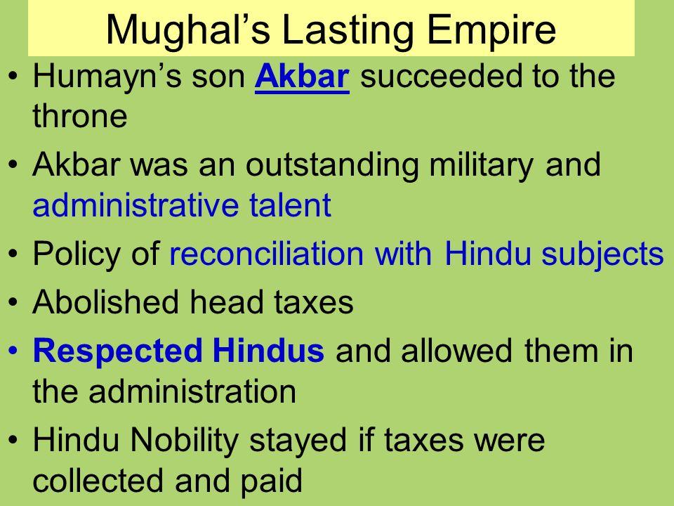 Mughal's Lasting Empire