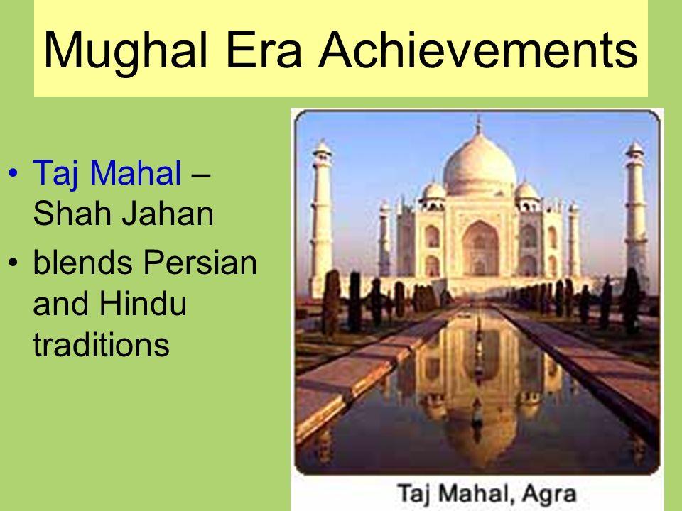 Mughal Era Achievements