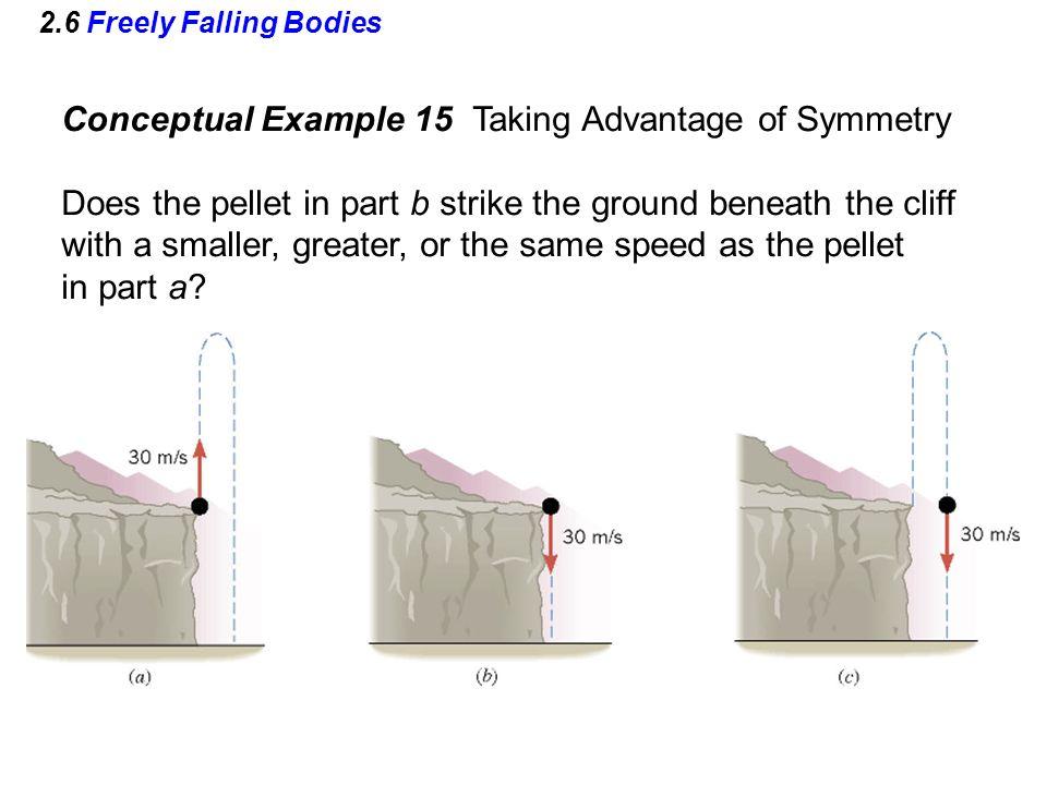 Conceptual Example 15 Taking Advantage of Symmetry