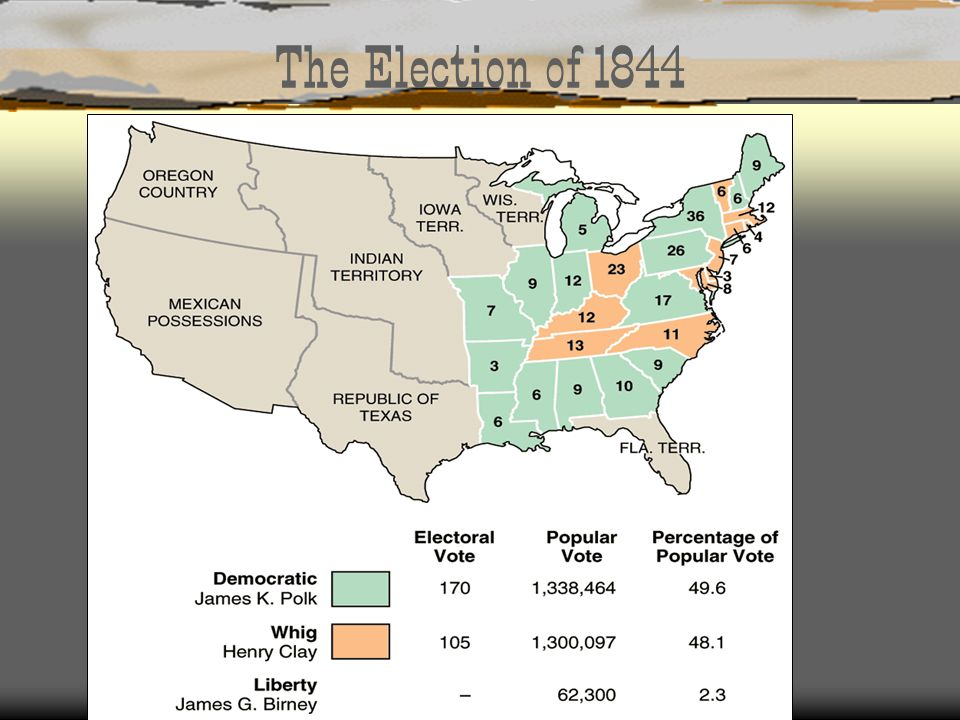 The Election of 1844