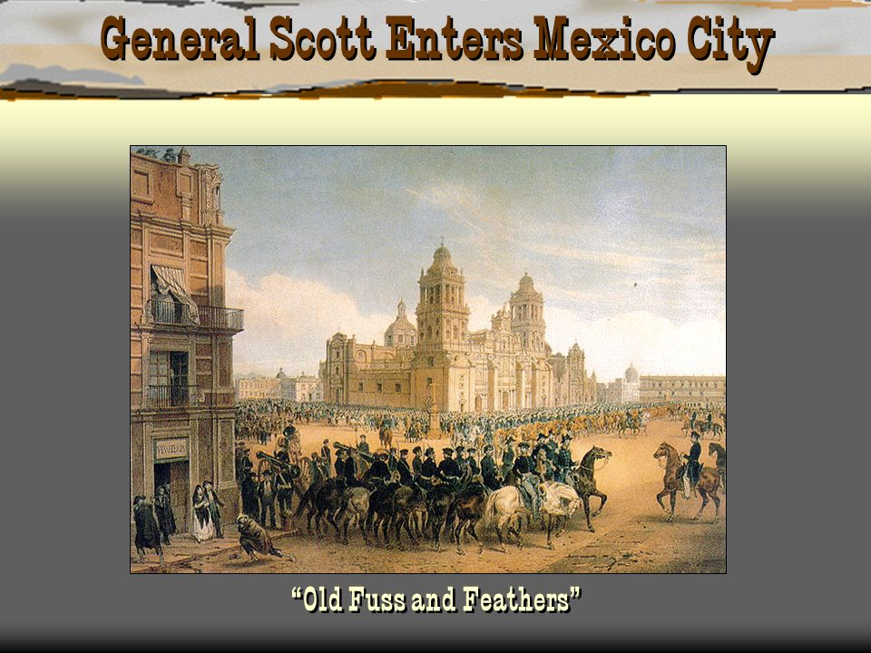 General Scott Enters Mexico City