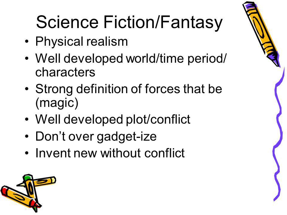 Science Fiction/Fantasy