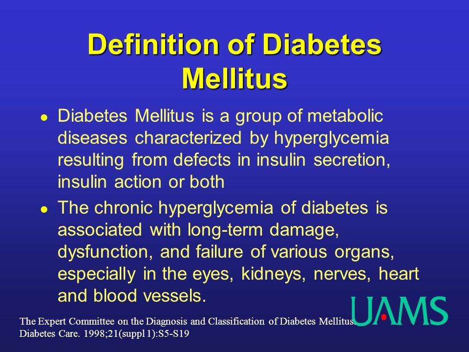 Classification and Diagnosis of Diabetes