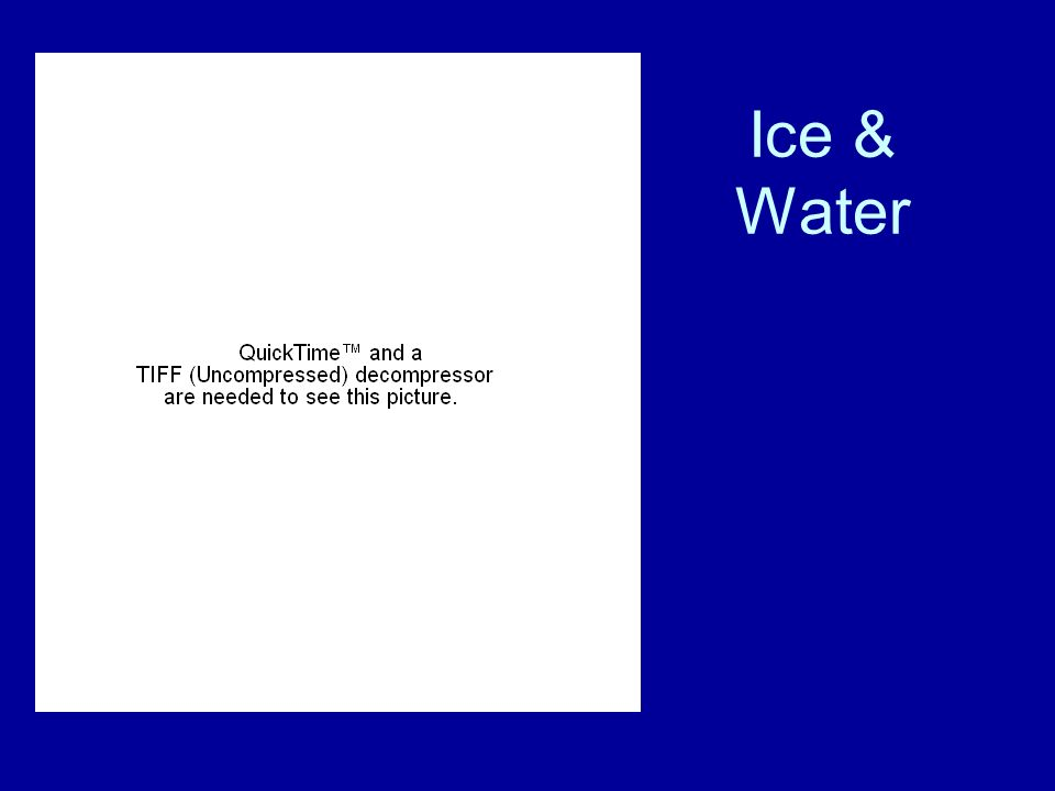 Ice & Water