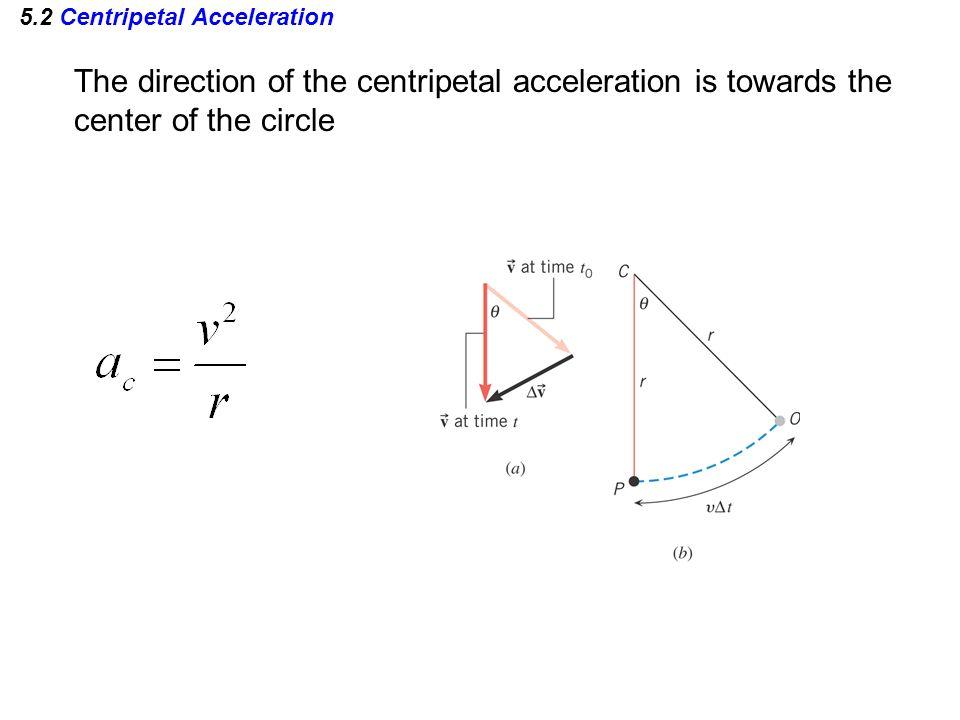 5.2 Centripetal Acceleration