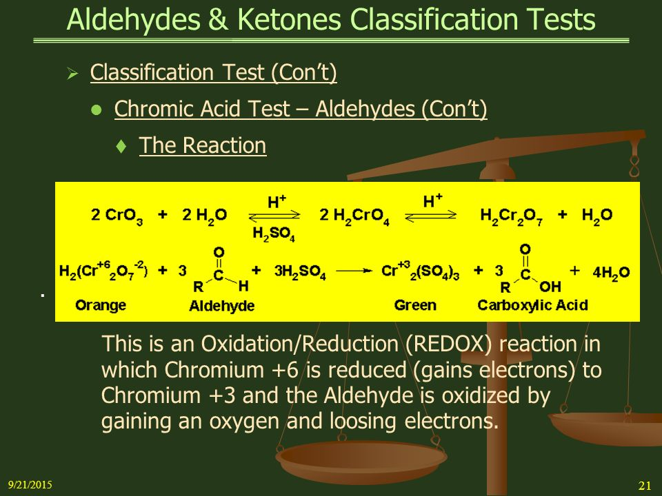 reactions of aldehydes and ketones essay Interactive problems to aid students of organic chemistry  question: addition reactions of aldehydes & ketones question: reactions of aldehydes & ketones i.