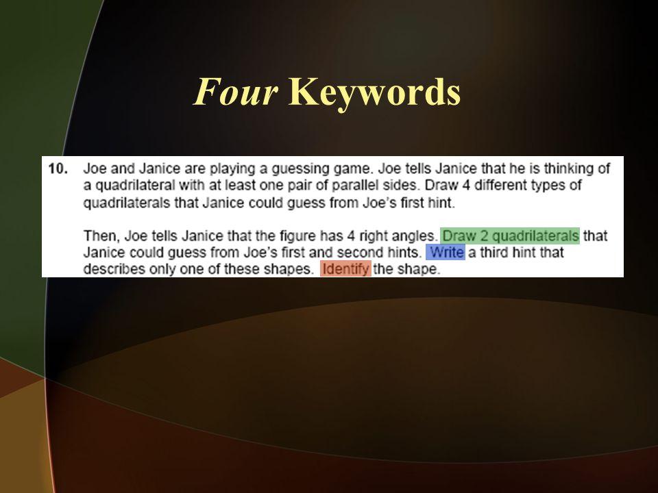 Four Keywords