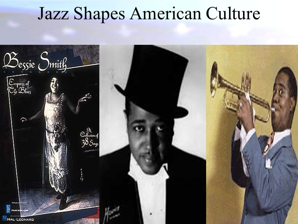 Jazz Shapes American Culture