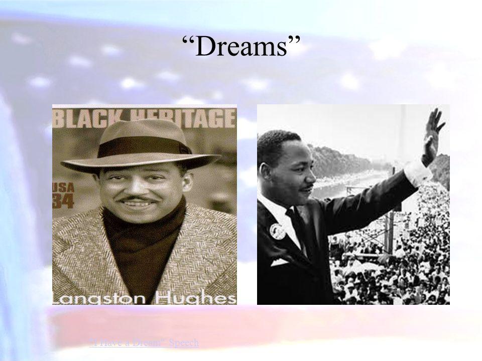 Dreams I Have a Dream Speech