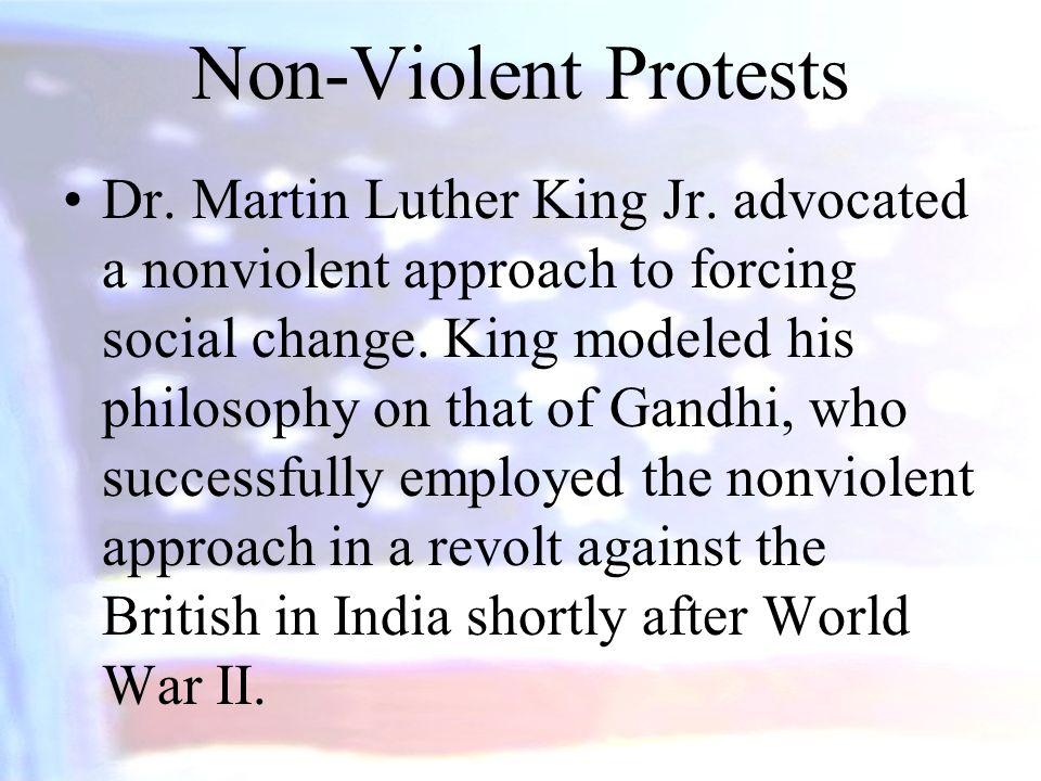 Non-Violent Protests