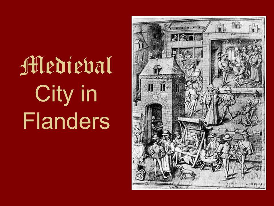 Medieval City in Flanders