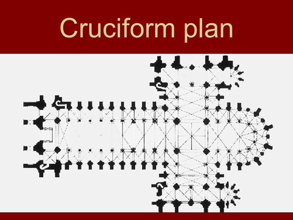 Cruciform plan