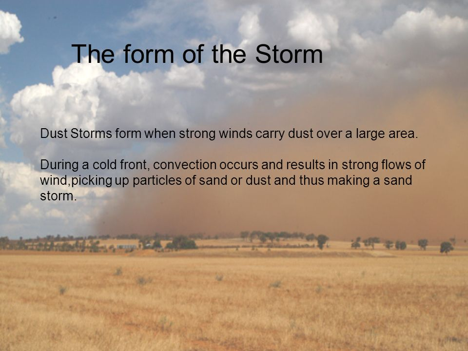 The form of the Storm
