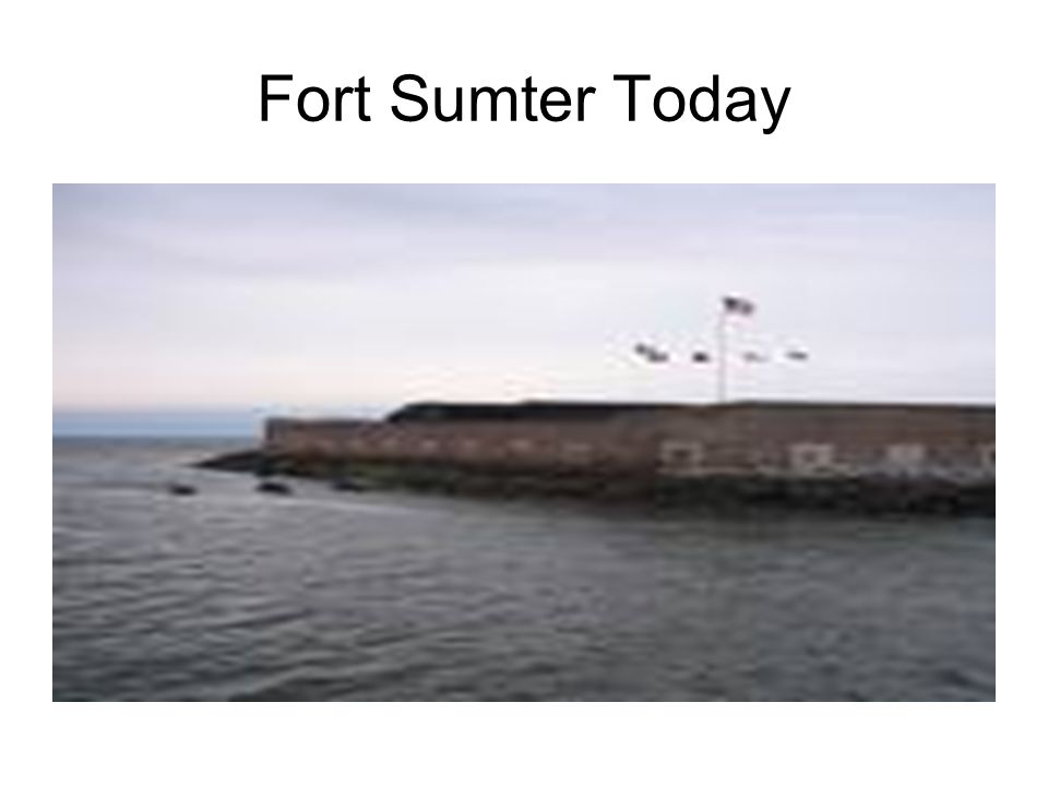 Fort Sumter Today