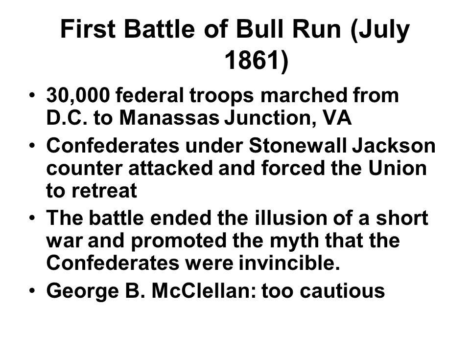 First Battle of Bull Run (July 1861)