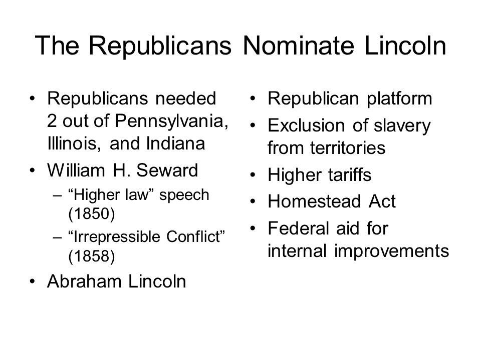 The Republicans Nominate Lincoln