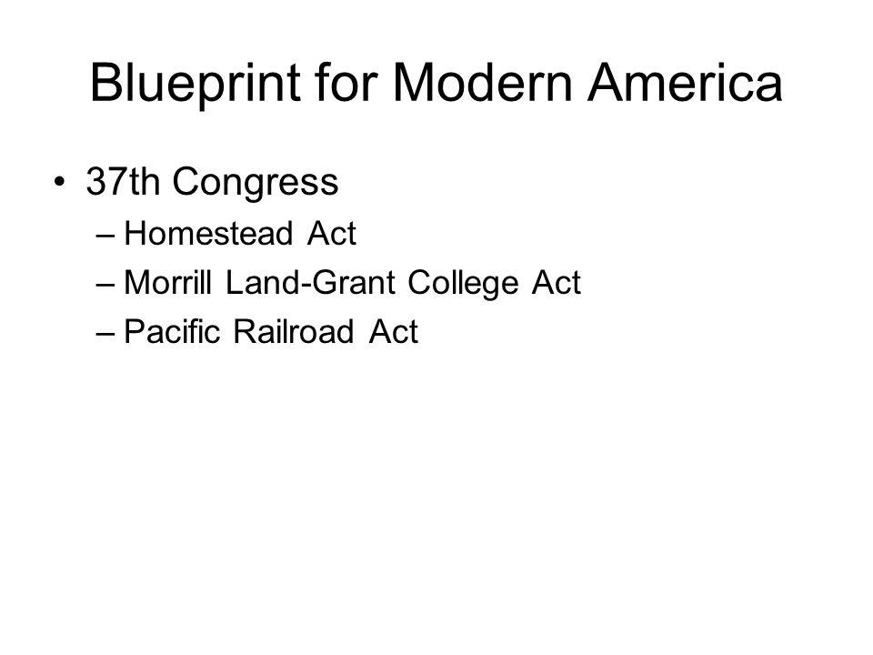 Blueprint for Modern America