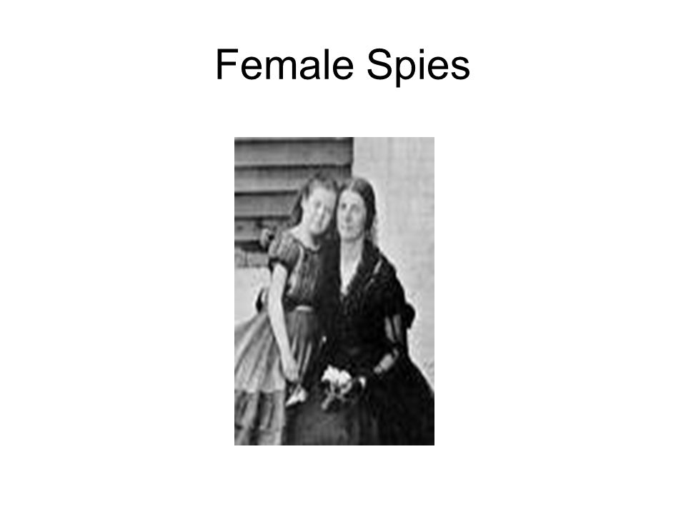 Female Spies