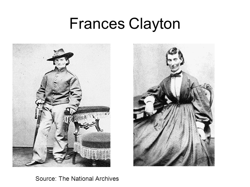Frances Clayton Source: The National Archives