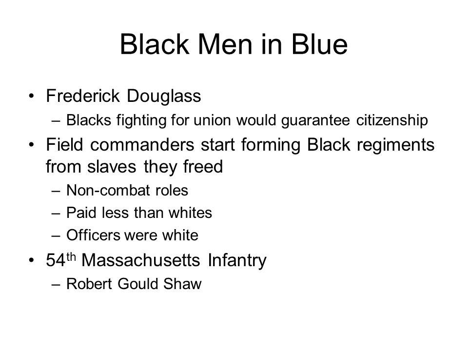 Black Men in Blue Frederick Douglass